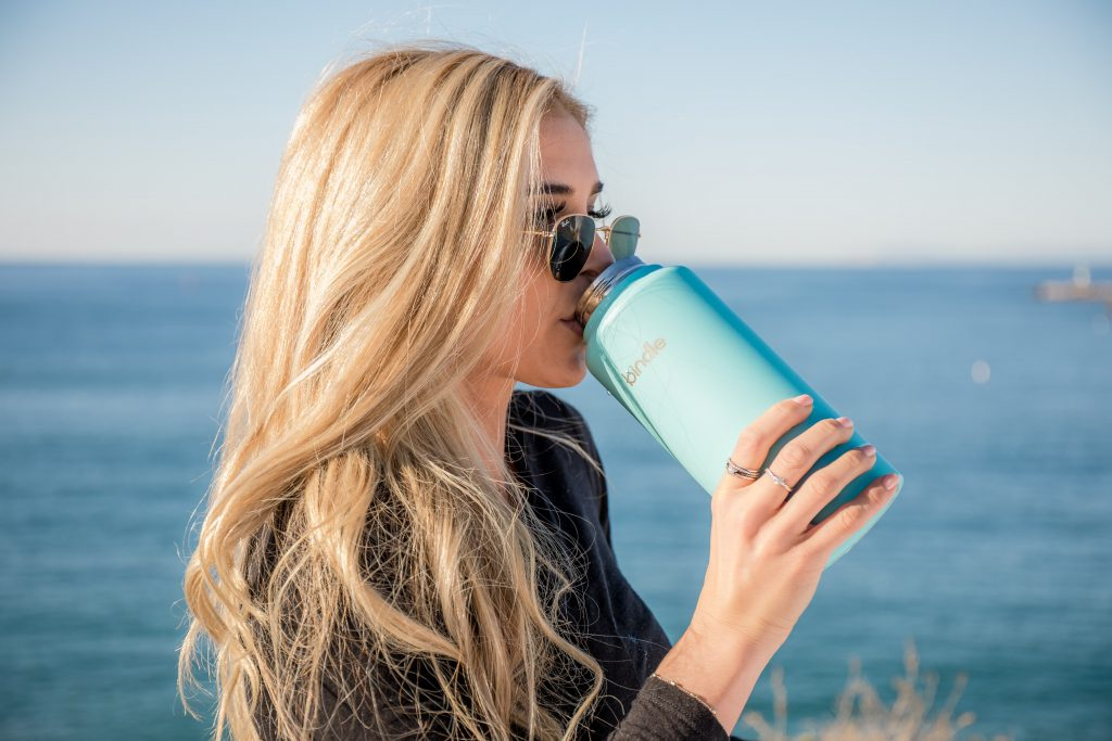 Make sure you stay hydrated and drink water instead of sugary beverages.